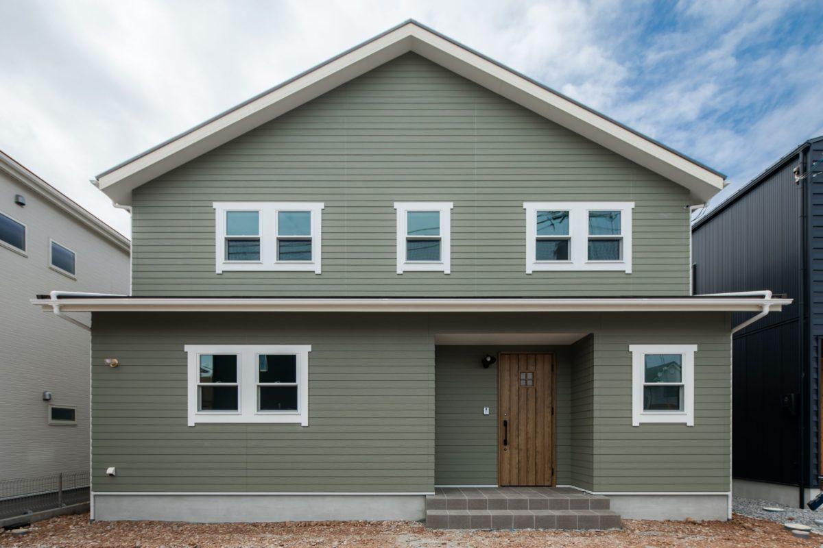 California style house/Herringbone counter