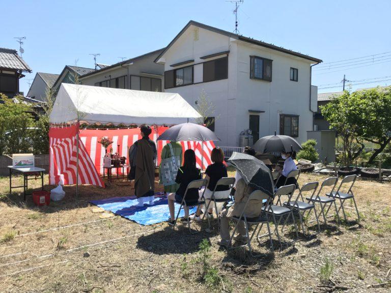 東近江市  M様邸〜地鎮祭〜
