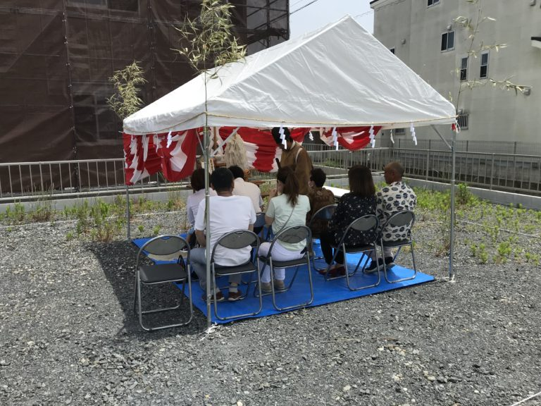 近江八幡市  H様邸〜地鎮祭〜