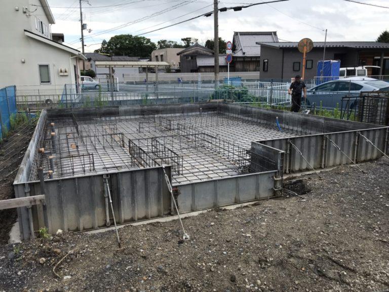 近江八幡市 H様邸~基礎工事~