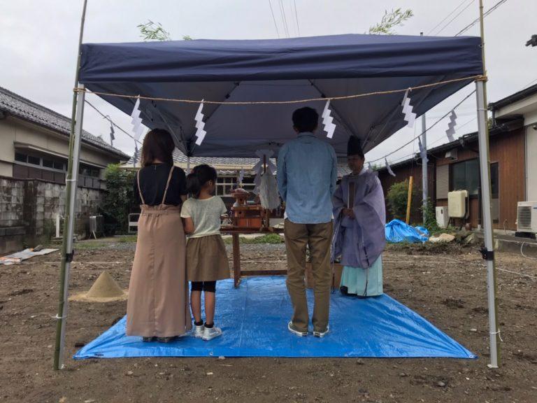 近江八幡市 TM様邸~地鎮祭~