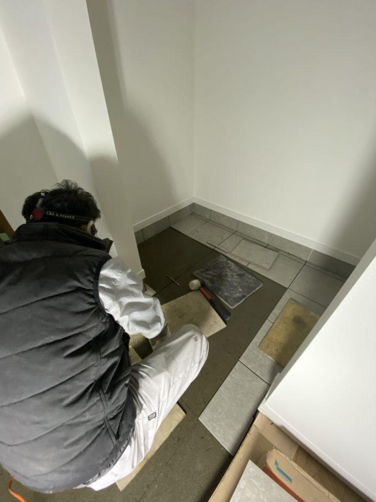 近江八幡市 西本郷モデル ~現場進捗~仕上げ